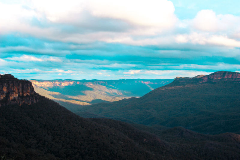 Australia Beauty In Nature Bluemountains Cloud - Sky Day Katoomba Katzen Landscape Mountain Mountain Range Mountains Mountains And Sky Nature No People Outdoors Scenics Sky Summer Tranquil Scene Tranquility