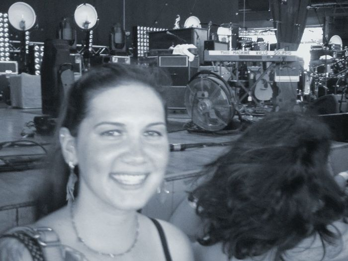 Happiness Smiling Concert Music Is Life. Mumford And Sons Front Stage Seats