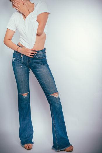 Beautiful Blue Fashion Photography Jeans Lighting Marina Marine Photo Photographer Photography Photography In Motion Photooftheday Photoshoot Sensual 💕 Sensual_photo Sensual_woman Studio Studio Photography Studio Shot Style Test White