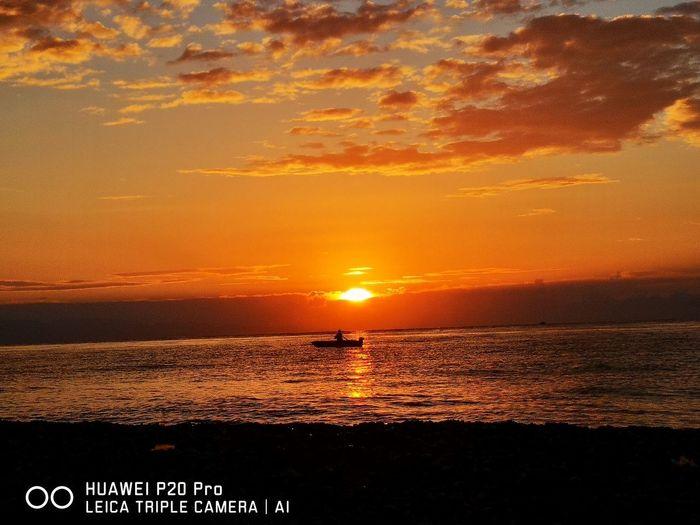 Water Wave Sea Nautical Vessel Sunset Beach Silhouette Sun Orange Color Reflection Romantic Sky Atmospheric Mood Moody Sky Coast Atmosphere Meteorology Seascape