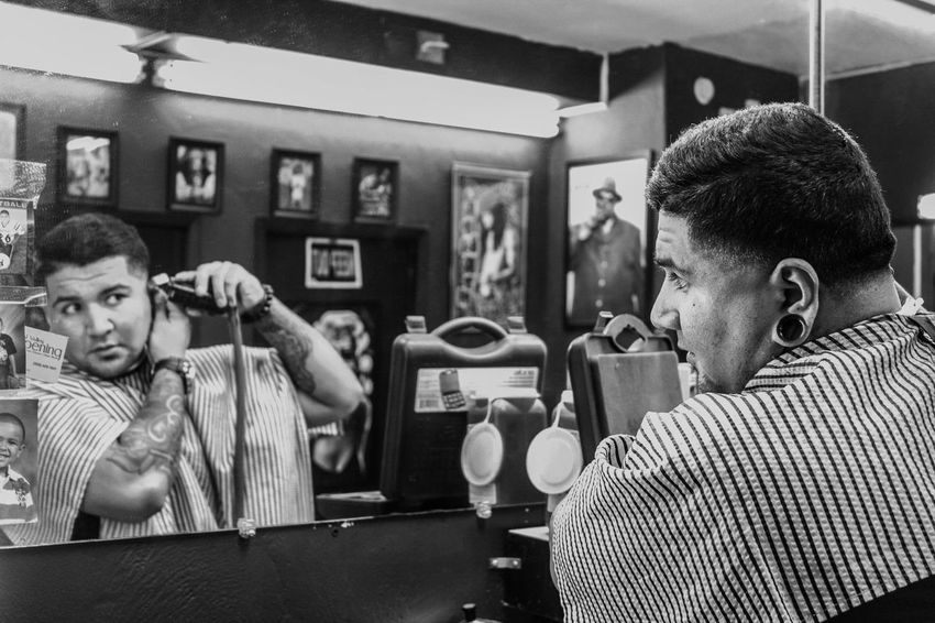 Barber see, barber do. EyeEm Best Shots EyeEm Bnw EyeEm EyeEm Best Edits