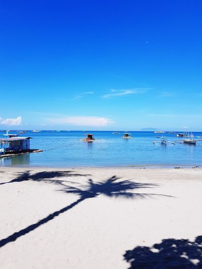 summer Batangas Summer Nature Serenebeauty Calm Water Clear Sky Sea Beach Blue Nautical Vessel Sand Summer Sunlight Sunny Seascape