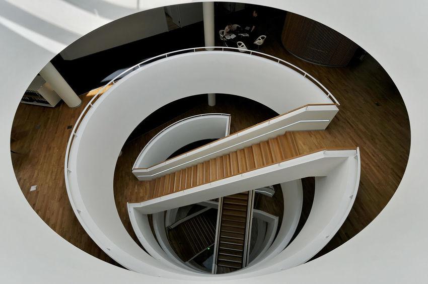 Anwaltskanzlei Hörten von 3XN Architekten Copenhagen Design Indoors  Modern Architecture Nikon 10-24 Nikon D300s Railing Steps And Staircases Nikon Nikonphotography