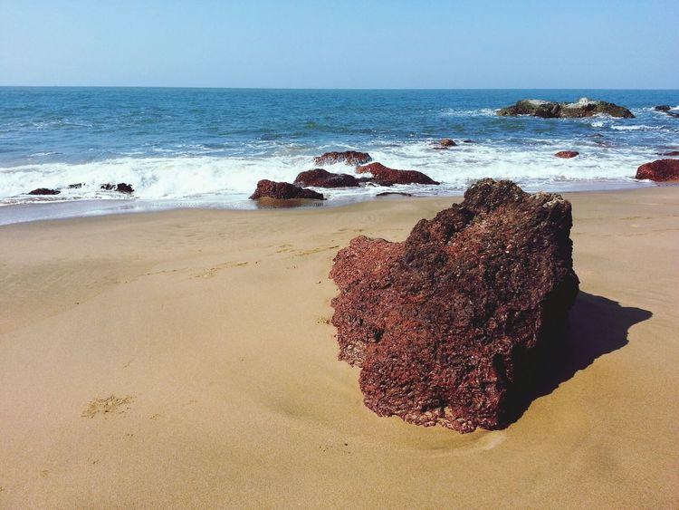 Sea Beach Stone Rocks