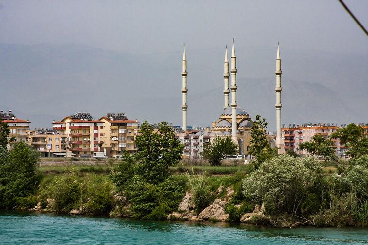Manavgat, Mosche Kultort Architecture Building Exterior Built Structure City Islam Mosche Moscheee Religion Travel Destinations Water