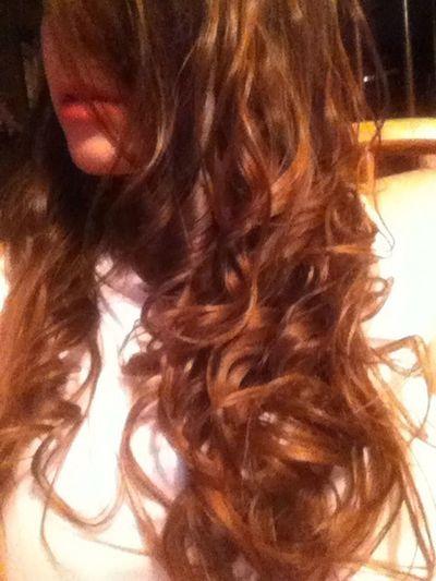 #girl #brunette #lips #hair #curls