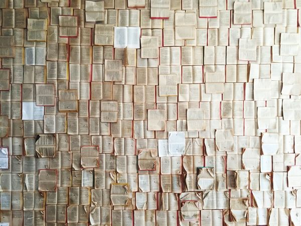 Patterns Pages Books Full Frame Backgrounds Pattern Textured  No People Wall - Building Feature Large Group Of Objects Abundance Repetition