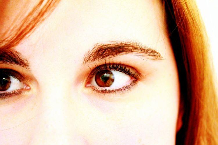 I'm looking at you! Close-up Detail Eyelash Eyesight Human Eye Human Face Human Skin Iris - Eye Look Macro Portrait Pupille Regard Sourcils Watch Yeux