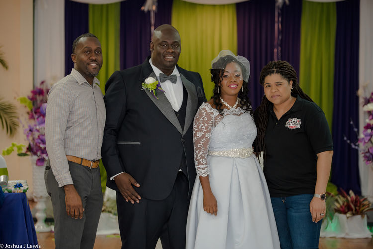 Trinidad Trinidad And Tobago Focus on the Story Laughing Wedding Photography Hugging Guest Female Bride Young Women Friendship Saxophone Well-dressed Togetherness Men Standing Bridegroom Women Wedding Dress Groom Wedding Guest Wedding Wedding Reception Newlywed Arm In Arm Mature Couple