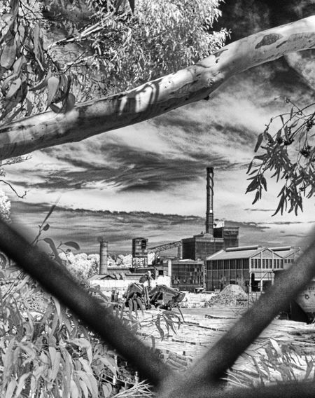 Demolition #3 Cloud Demolition Site Destruction Industry Infrared Infrared Photography Outdoors Ruined Selective Focus Sky