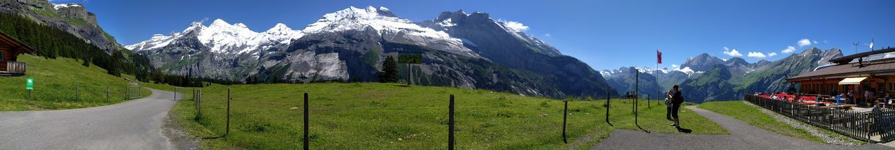 Hiking Mountains Swiss Mountains Kandersteg Panorama Paniramic PhonePhotography Nature Switzerland