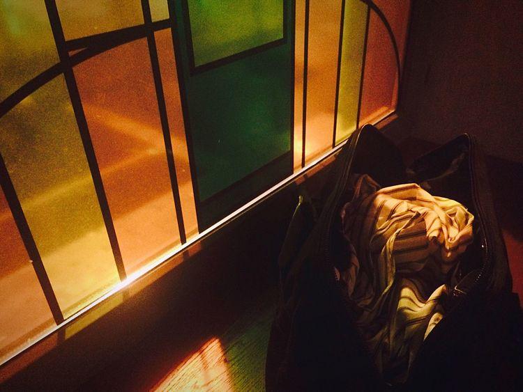 Window Barbershop Details Bag Job For Life Light Night Indoors  Street Light