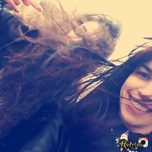 Hi! Hairinthewind My Girlfriend <3  Taking Photos Hello World Limoges France