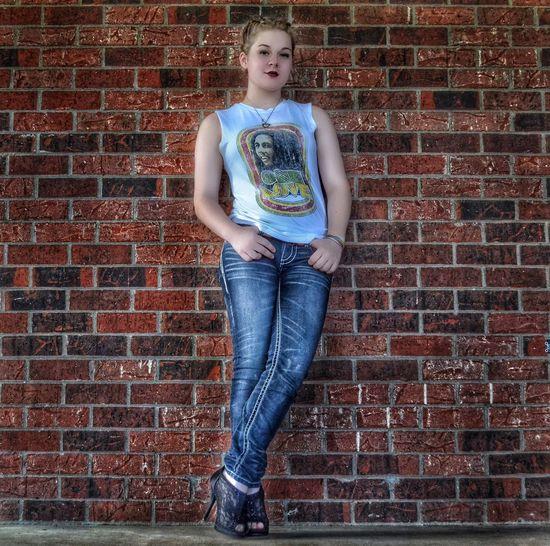 This little light of mine. ☀️ Brick Wall Daughter Daughterlove