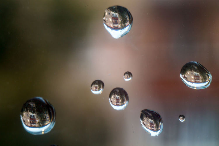 Backgrounds Bubble Close-up Geometric Shape Glass - Material Indoors  Nature No People Reflection Shape Shiny Sphere Transparent Water