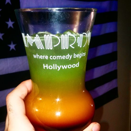 Drinks Alcohol Mixed Drink Glass Hollywood Improv Rainbow Colors Colorful