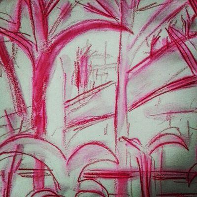 """""""my balcony"""" sketch"""