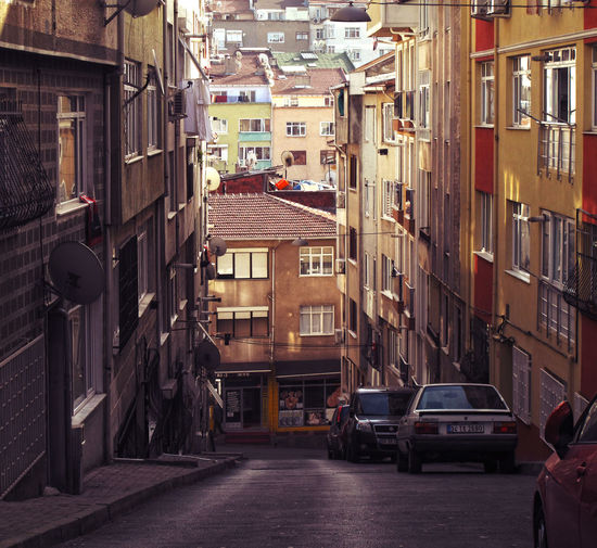 Small Istanbul street Istanbul Travel Traveling Turkey Architecture Building Exterior City Location Neighborhood Residential District Street Photography Tiny Street