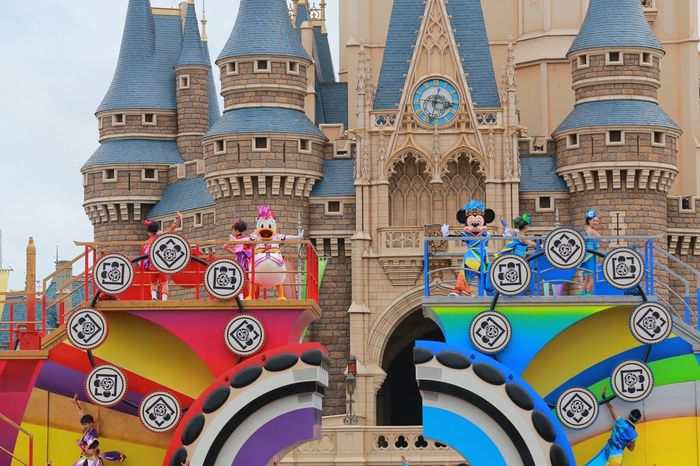 Daisy Tokyo Disney Land Japan Canon6d Minnie Mouse Micky Mouse Donald Duck