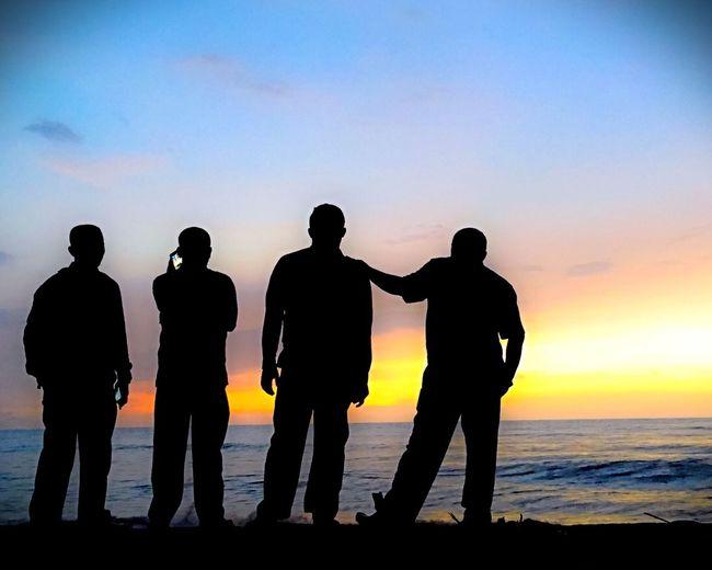 Nortmolucas Workplace IPhoneography Taramanyasal Jailolo Sunset Silhouettes