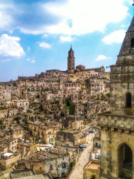 Beautiful city of Matera Matera Sassidimatera Italy UNESCO World Heritage Site