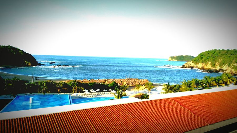 Hotel Secrets, Huatulco, Oaxaca, México Mobility In Mega Cities Water Luxury Tourist Resort Horizon Over Water Tropical Climate Swimming Pool Tranquility Travel Destinations Summer Nature Luxury Hotel Beauty In Nature