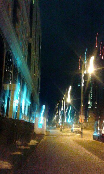 Lights Illuminated Night The City Lights