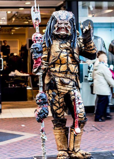 Street Performer - Birmingham Alien Animal Representation Art Creativity Human Representation Inspired By Movies Portrait Sculpture Street Performer