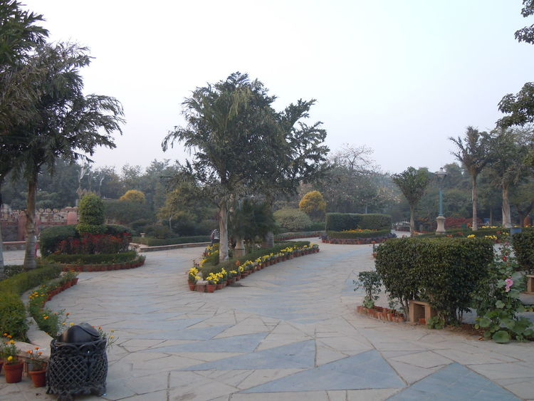 00685 Garden of Five Senses, New Delhi Clear Sky Day Empty Footpath Formal Garden Garden Growth Long Narrow Nature Outdoors Park Park - Man Made Space Park Bench Pathway Pedestrian Walkway Plant Scenics Sky Solitude The Way Forward Tranquil Scene Tranquility Tree Walkway