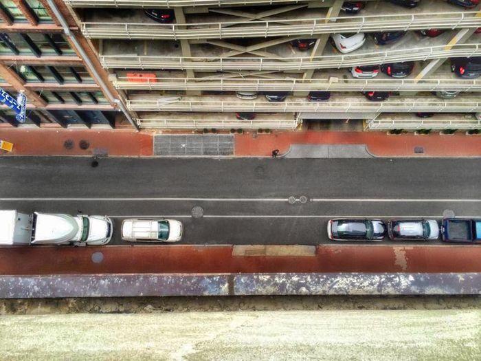 Bird's eye view New Orleans City Parking City Life Parking Garage