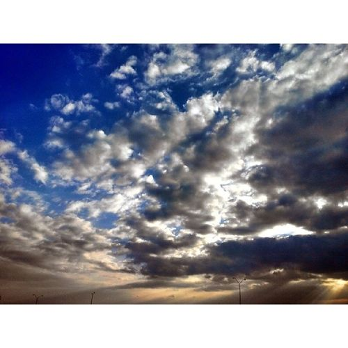 Beautiful sky Naturelovers Reposting_world Nature_featuring Sunset sun TagsForLikes TFLers pretty beautiful red orange bluesky skyporn cloudporn nature clouds horizon photooftheday instagood gorgeous warm viewsilhouette instasky all_sunsets