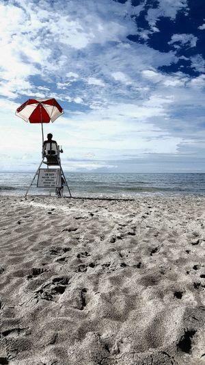 On Watch Beach Umbrella Beachlife Lifeguard