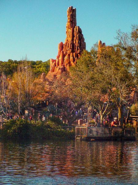 The Magic Kingdom Walt Disney World Orlando Orlando Florida Big Thunder Mountain Railroad Big Thunder Mountain Mine Train