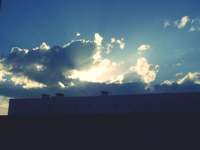 Sun Sunshine ☀ Clouds Taking Photos
