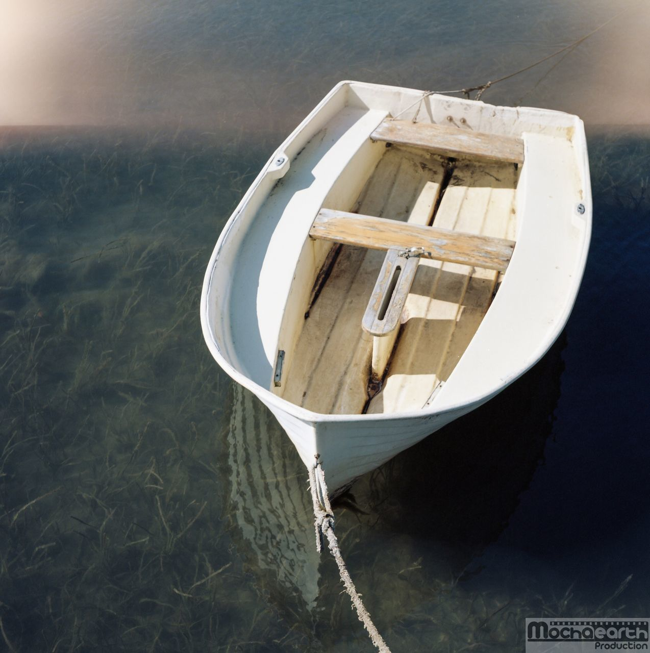 water, high angle view, no people, nautical vessel, day, nature, wood - material, lake, outdoors, beauty in nature, close-up