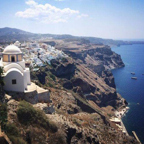Santorini Where Do You Swarm? Greece Summer