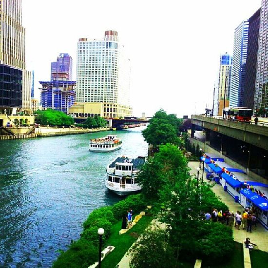 Chicago river outing. Chicago ♥ Chi-Town City