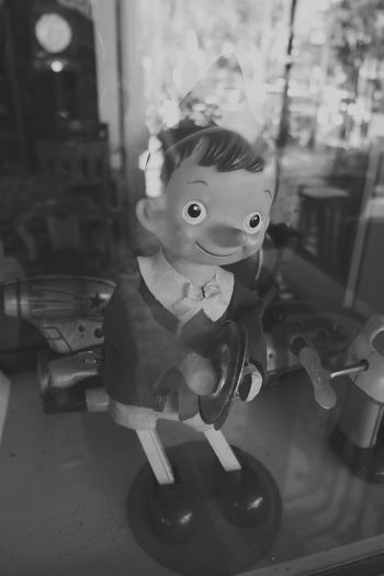 Remember Memories Cute Blackandwhite Pinokio Wood Toy Toy Toyphotography Childhood Portrait Arts Culture And Entertainment Child Old-fashioned Toy Close-up
