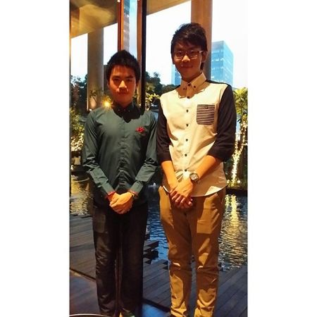 with my bro~ 