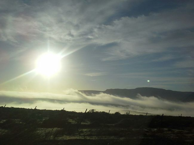 Vredendal Wispy Clouds Beauty Of Nature N7 West Coast Namaqualand South Africa No Filter, No Edit, Just Photography Unfiltered Tourism Morning Sun Roadtrip Femalephotographer Travel Photography Landscape_photography