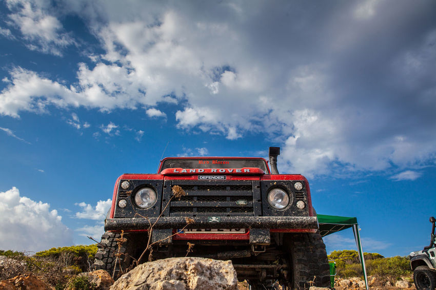 Defender 110 Adventures 110 Expedition Land Rover Off-Road Adventure Cloud - Sky Day Defender 110 Land Rover Defender Landrover  Landy Low Angle View Nature No People Off-road Vehicle Off-roading Offroad Offroading Outdoors Sky Tree Trek