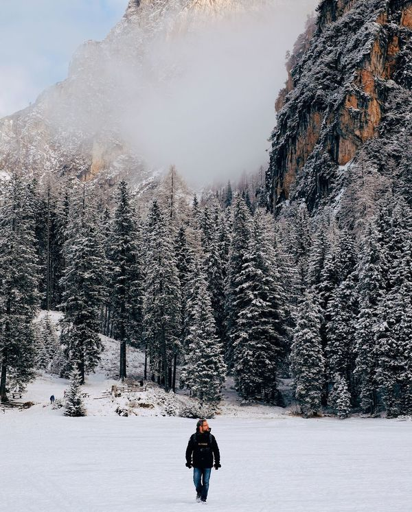 Feeling very small It's Cold Outside Showcase: January Adventure Buddies The Great Outdoors - 2016 EyeEm Awards