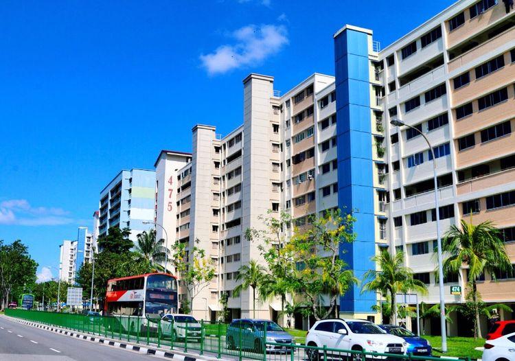 Pasir Ris, Singapore Singapore Landscape Architecture Building Exterior Sg Eyeem Singapore Exploring The World Streetphotography Blue Sky Colour Of Life