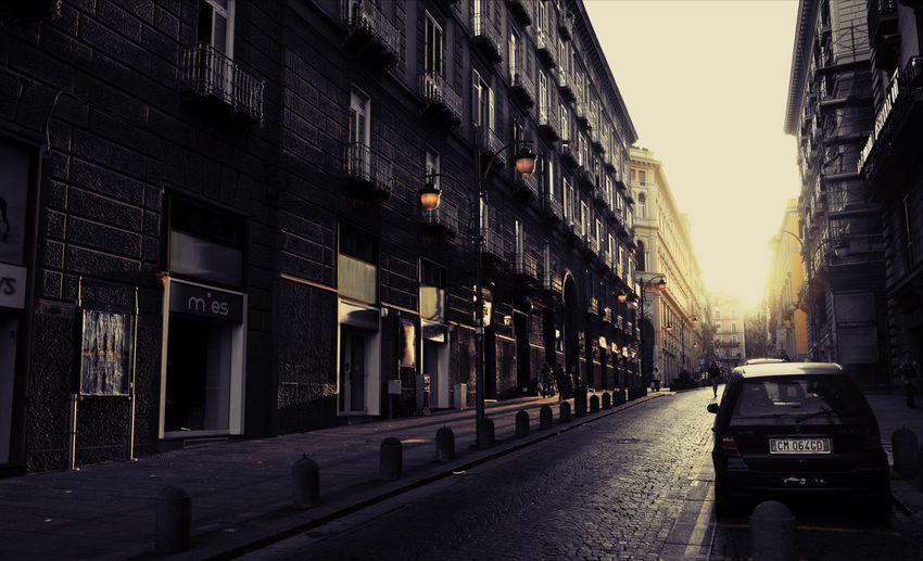 Rising Sun In Mor Street Light Sunset #sun #clouds #skylovers #sky #nature #beautifulinnature #naturalbeauty #photography #landscape Old Street Light Yellow Shades