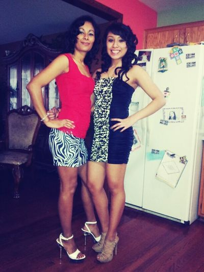 Me & My Mom Last Night (: