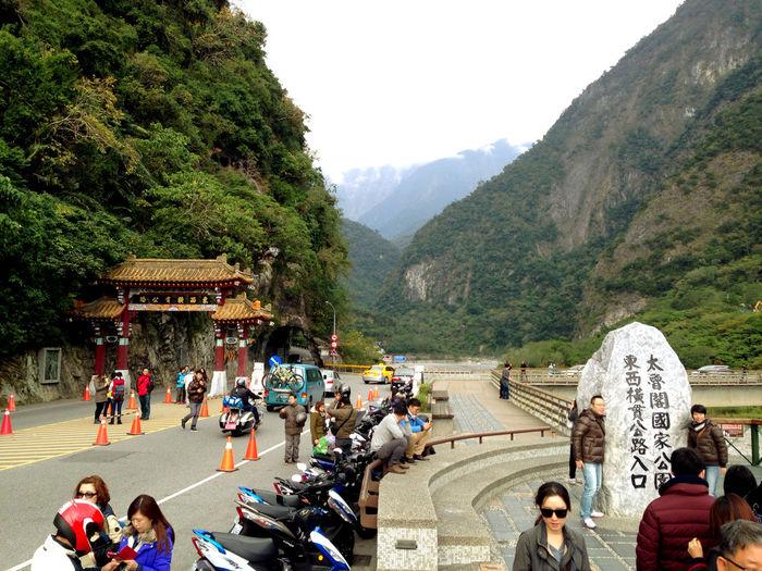 試車的第一站-太魯閣,這裡有我久遠的記憶。 National Park Landscape Mountains Traveling