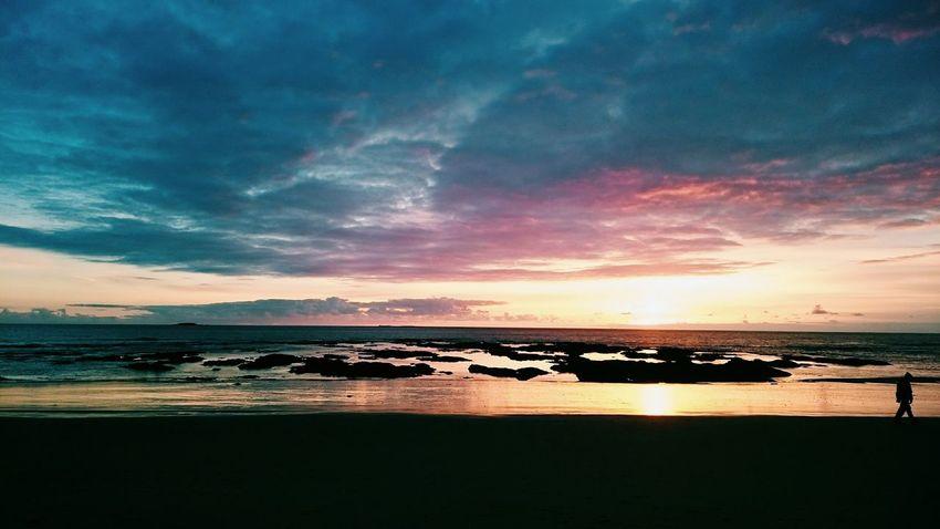 Sunset :) Life Is A Beach Beachphotography Enjoying Life Seascape Skyporn