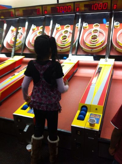 Chuck E Cheese With This Girl