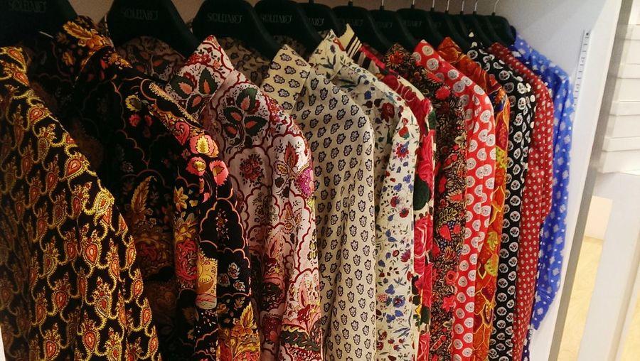 Souleiado Clothes Mode Style Colors Shirt
