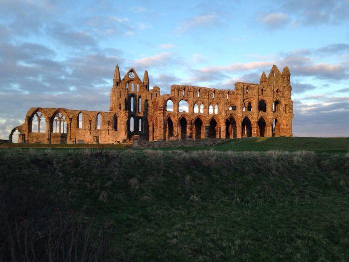 Historic Feel Quiet Nature Warm Light Abbey Whitby North Yorkshire Original Experiences EyeEmNewHere The Architect - 2017 EyeEm Awards
